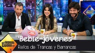 Álvaro Morte y Adriana Ugarte descubren a Mario Casas y Úrsula Corberó de bebés - El Hormiguero 3.0