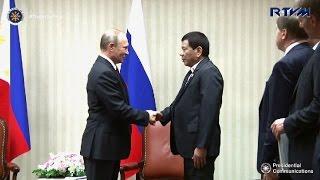 Putin formally invites Duterte to visit Russia