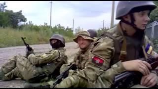 Правий Сектор - початок бою під Карлівкою 6.07.2014