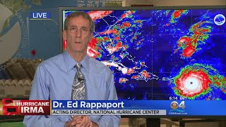 National Hurricane Center's Director Discusses Threat Of Irma