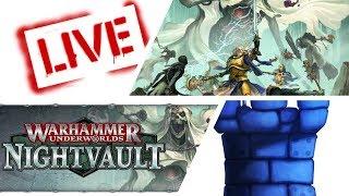 LIVE!!: Warhammer Underworlds: Nightvault with Sam and Vernon