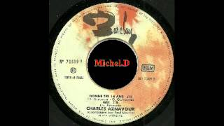 Charles Aznavour - Donne Tes 16 Ans - EP - Barclay 70519