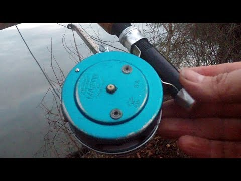 The Vintage MARTIN AUTOMATIC 8A Fly Fishing Reel - SELF WINDING & SPRING LOADED
