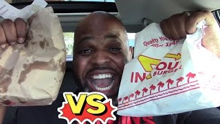 Five Guys VS In N Out Burger | THE ULTIMATE FOOD FIGHT