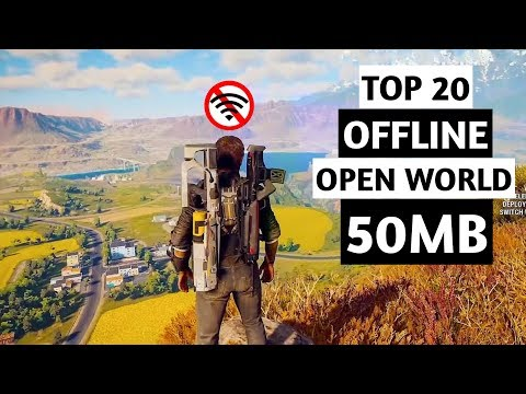 Top 20 OFFLINE Open World Games For Android | Under 50MB