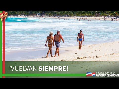 ¡Vuelvan siempre! Es el deseo de todos los dominicanos a los turistas que nos visitan