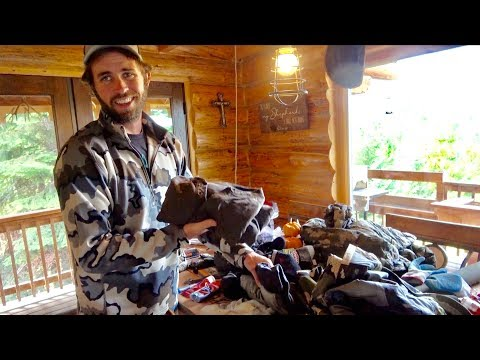 WHAT TO PACK For DIY MOOSE Hunting ALASKA And WHY!