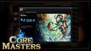 『コアマスターズ』 実況プレイ 「カズ」 メジャーモード模擬戦 Core Masters : Major Japan
