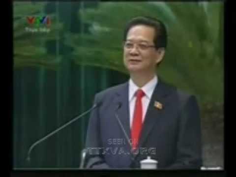 Thủ tướng Nguyễn Tấn Dũng trả lời chất vấn ĐBQH Dương Trung Quốc