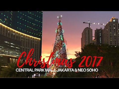 Christmas at Central Park Mall Jakarta 2017
