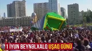 Bakıda atraksiyon qırılaraq uşaqların üzərinə düşüb