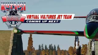 "Virtual Vultures at Thunder Over Kutaisi.  A tribute to Julio Michael ""Kiko"" Chavez."