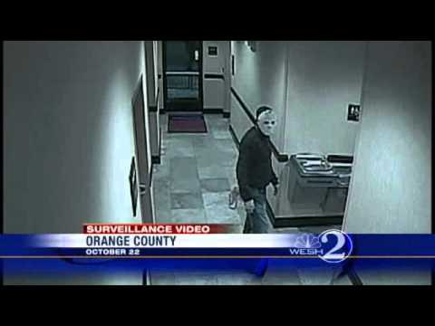 Deputies Seek Masked Man In Hotel Armed Robbery - YouTube