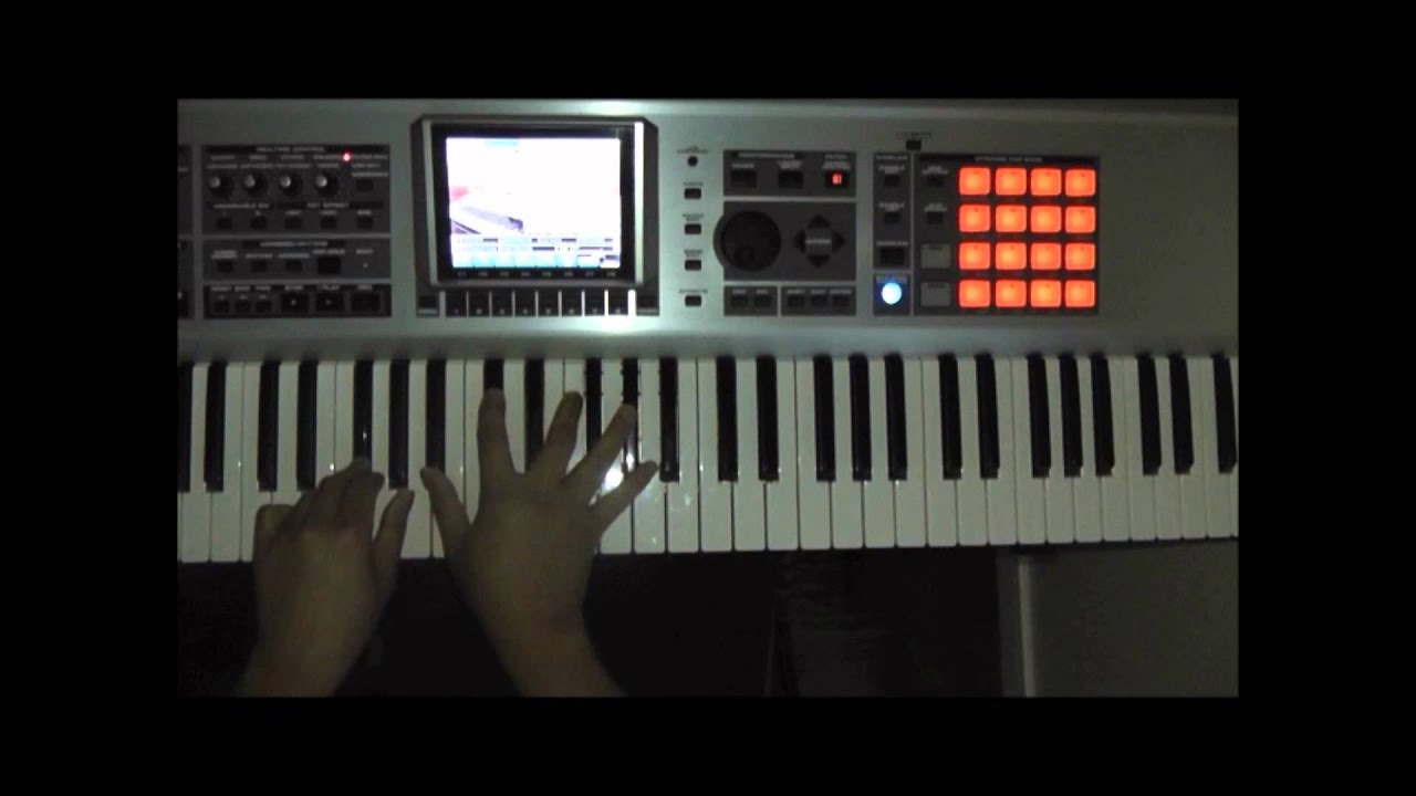 Tender love force mds easy piano tutorial youtube hexwebz Images