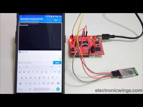 HC 05 bluetooth module interfacing with TI launchpad