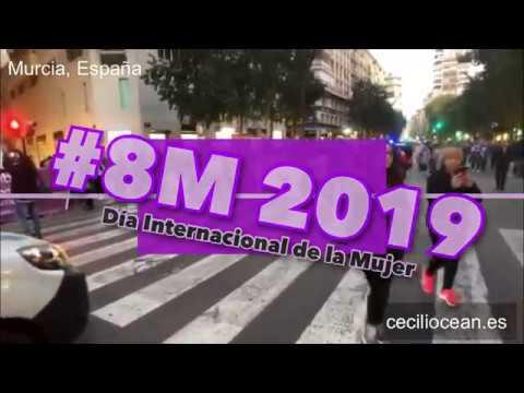 Manifestación 8 de Marzo de 2019 en Murcia