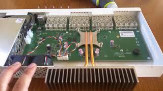 видео MikroTik CRS328-4C-20S-4S+RM