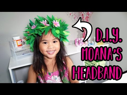 diy-moana-headband-|-flower-headband-craft-|-moana-costume-party-ideas