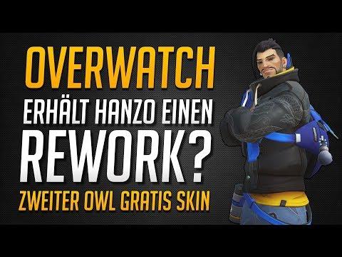 HANZO REWORK? | Zweiter OWL Skin GRATIS! Blizzardworld Release rückt näher ★ Overwatch Deutsch