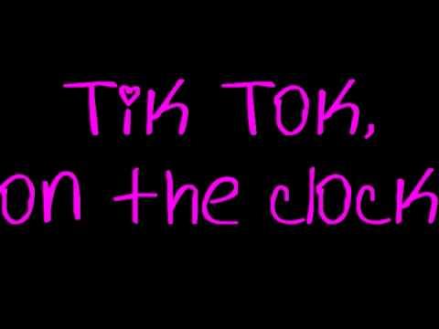 Tik Tok  Kesha +LYRICS!+DOWNLOAD LINK!