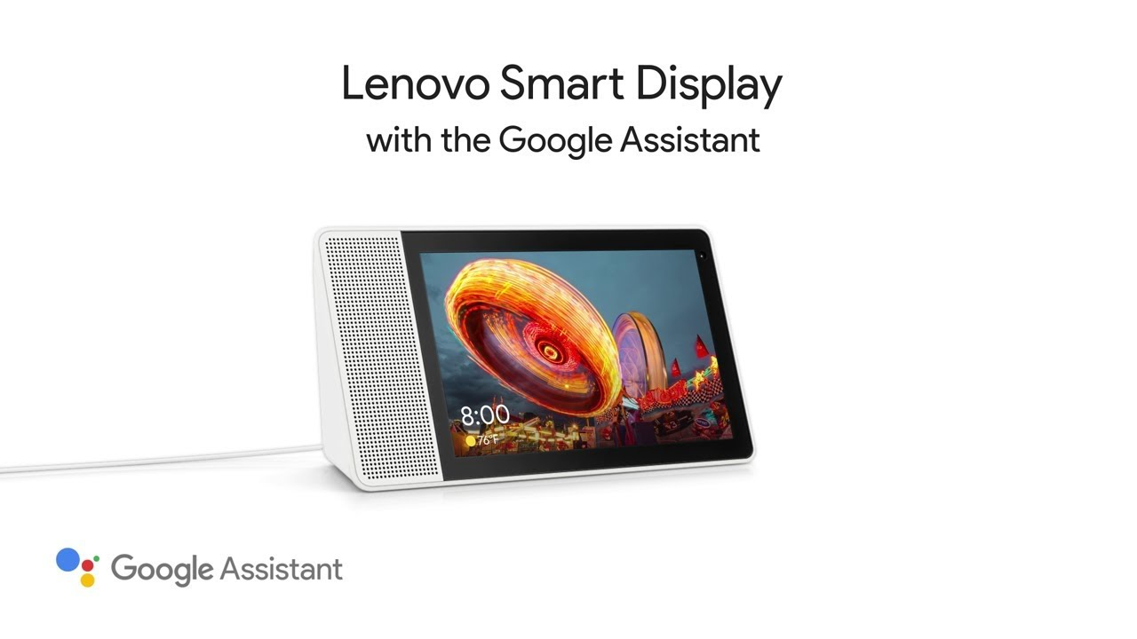 Lenovo and Google's new Smart Display: a killer photo frame