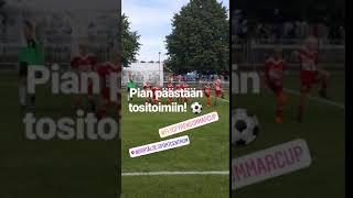 Flygfyren sommarcup 2018: lämmittelyt