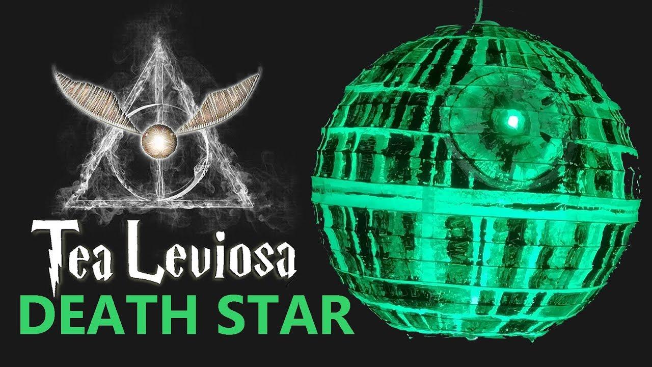 Death Star Lantern DIY - Tea Leviosa