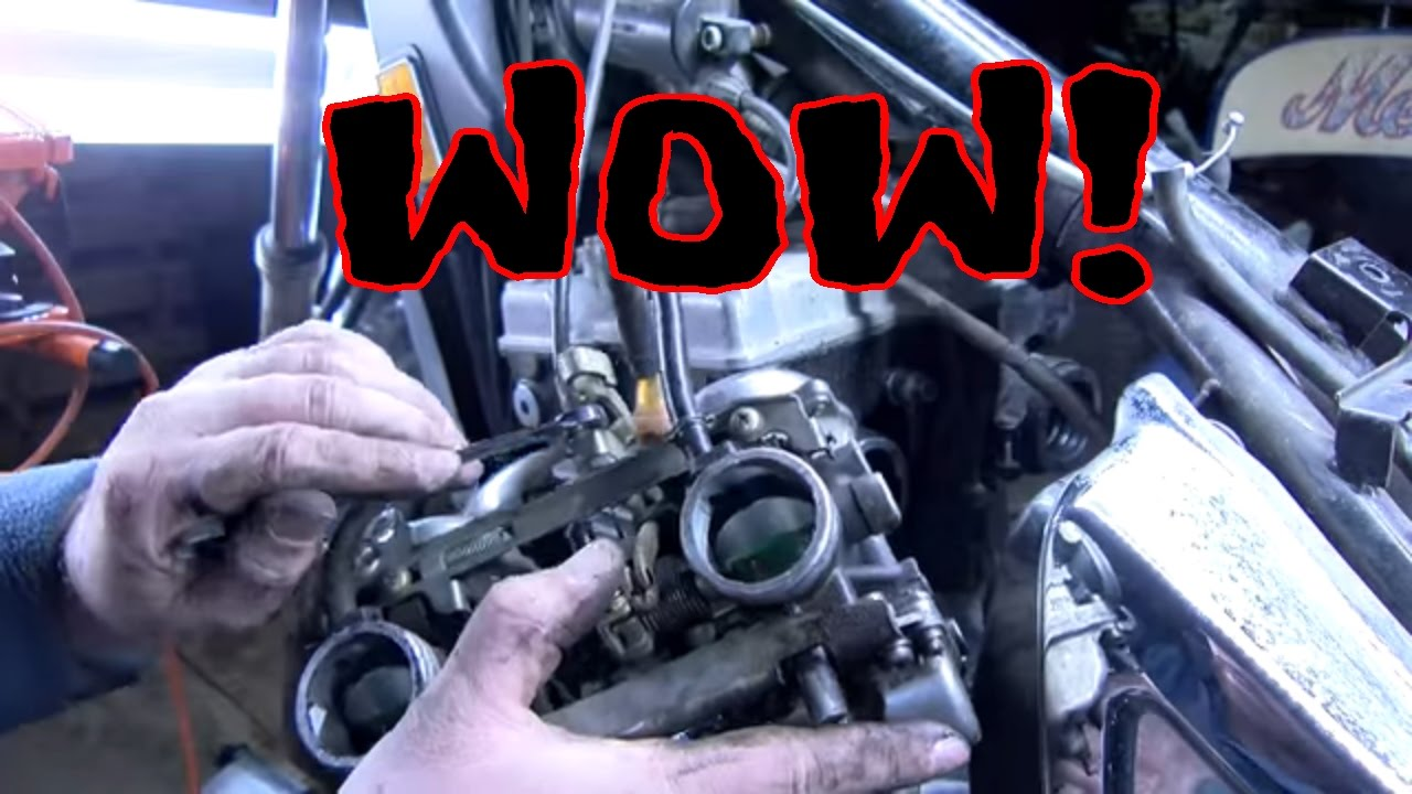 1987 454 Kawasaki Engine Diagram Electrical Wiring Diagrams Remove Dual Carburetors En450 Clean Fix Old Motorcycle Poor