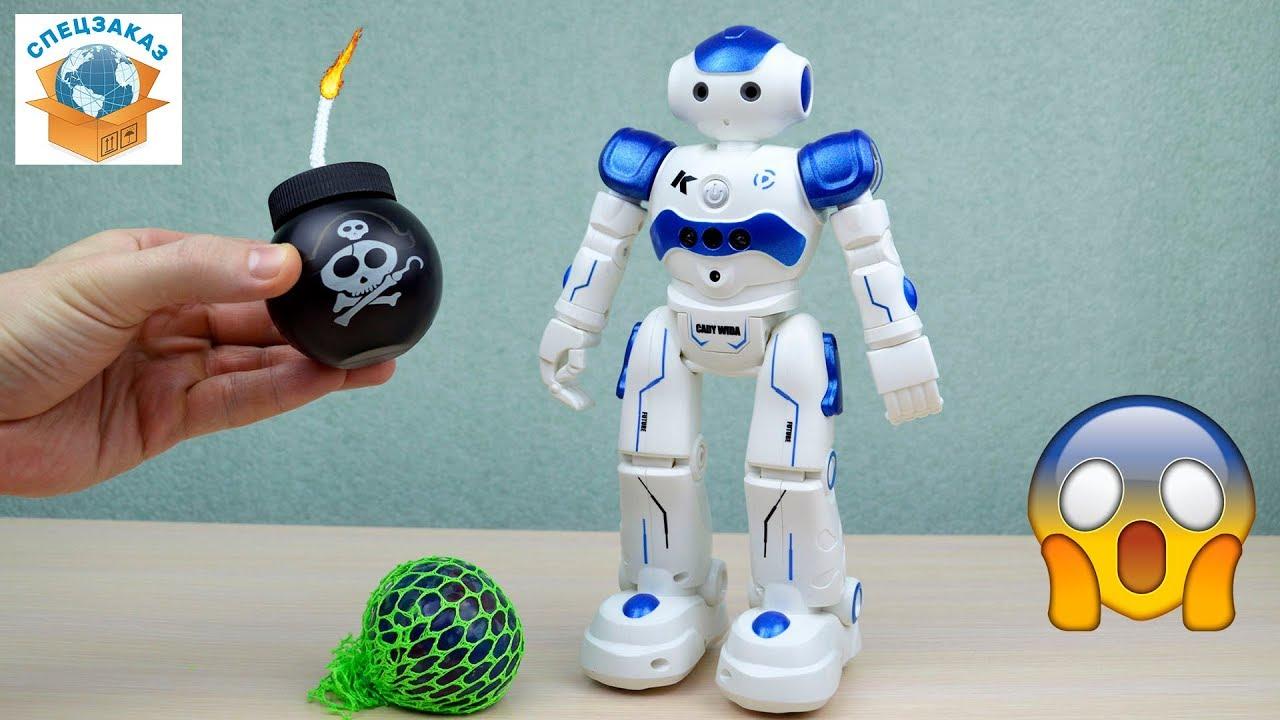 Игровые Автоматы Помидоры Вулкан | Шок!! Робот Против Лизуна!! Говорит и Танцует