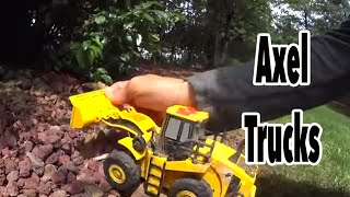 Toy Recycling Truck, Toy Loaders, Toy Bulldozer, and Your Imagination