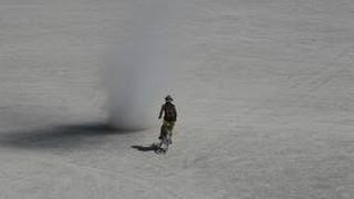 Dirt Bike Vs Dust Devil