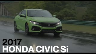 Honda Civic Si Hot Lap at VIR   Lightning Lap 2017   Car and Driver