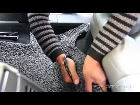 Carmate coil car floor mat