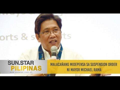 Malacañang midepensa sa suspension order ni Cebu City Mayor Michael Rama