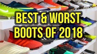 2018 FOOTBALL BOOT AWARDS! - BEST, WORST & WEIRDEST BOOTS OF THE YEAR
