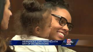 Jurors spend 4th day deliberating in Hernandez double murder
