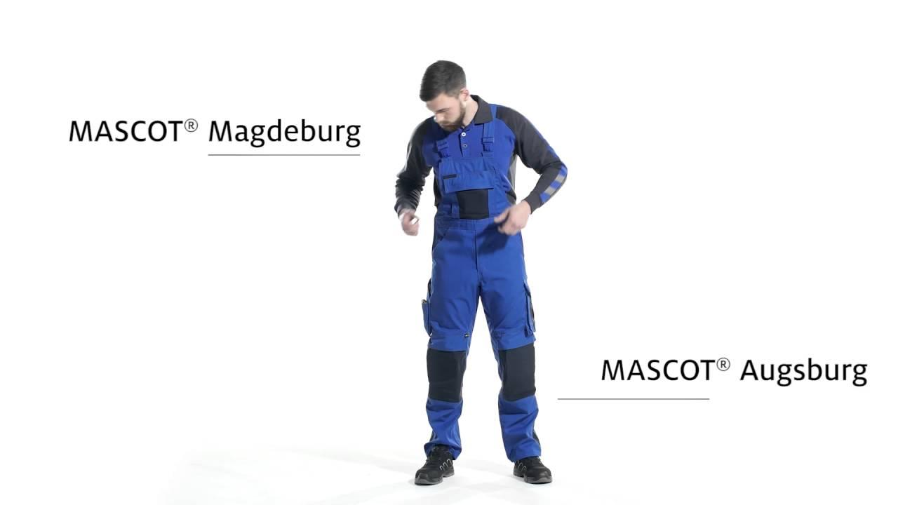 L82cm//C66 Red//marine Blue Mascot 00969-430-21-82C66Milano Bib /& Brace