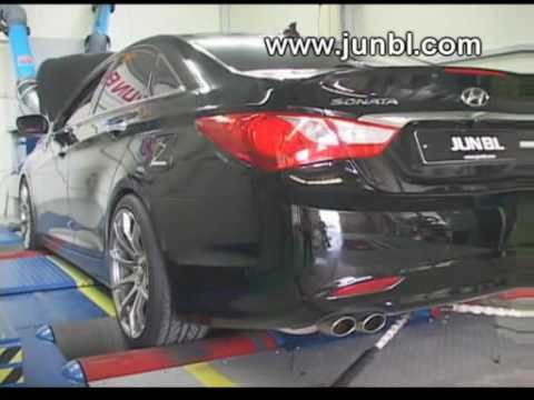 2011 Hyundai Sonata Exhaust Jun B L 2 0l Amp 2 4l Youtube