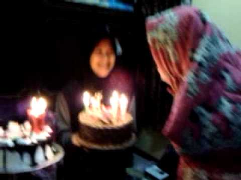 Indah dyastari birthday my girlfriend :*