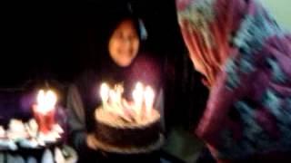 Indah dyastari birthday my girlfriend :*