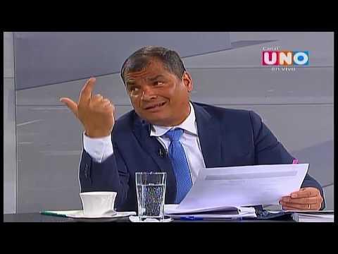 Uno Consulta con Rafael Correa y Guillermo Lasso