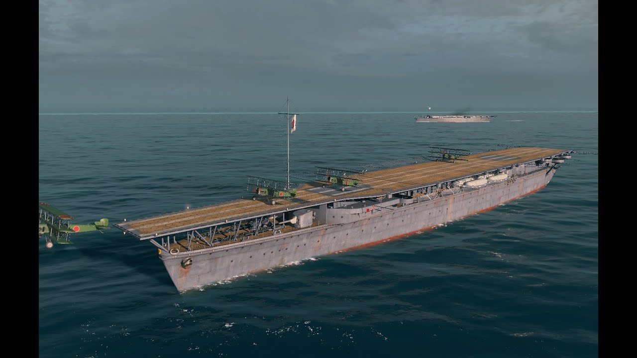 world of warships - hosho