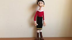 Como Tejer Una Pantera Rosa Al Crochet - Flores de Papel | 138x246