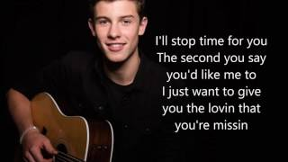 Shawn Mendes - Treat You Better - Lyrics