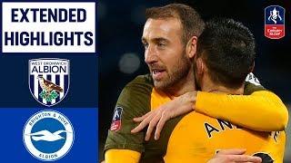 Extra Time Drama as Glenn Murray Scores Brace! | West Brom 1-3 Brighton | Emirates FA Cup 18/19