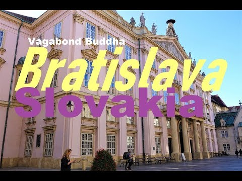 Bratislava Slovakia Free Walking Tour Video