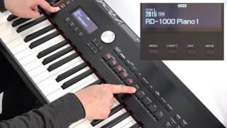 """Using Scenes (1)"" Roland RD-2000 #10"