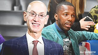 No player or agent should approach Adam Silver about team issues