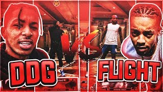 DDG Vs FlightReacts NBA 2K20! *MADE HIS OVERALL DROP!*