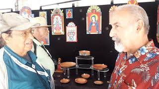 SPANISH MARKET SANTA FE 2019 – ARTIST INTERVIEWS  Charlie Carrillo
